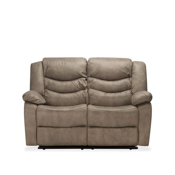 Sofa-2-Puestos-Recli-Elect-Dante-Microfibra-Taupe-T.Shagree-