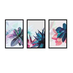 Set-3-Cuadros-Figuras-60-40-2.5Cm-Colores-Varios