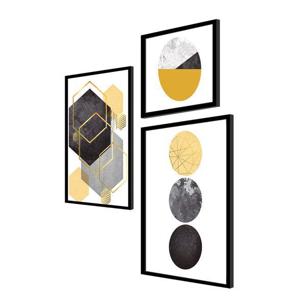 Set-3-Cuadros-geometricos-60-46-7.5-Cm-Colores-Varios