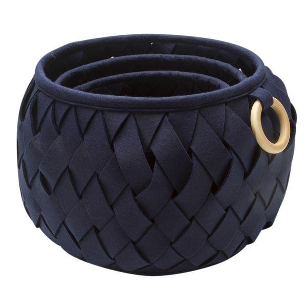 Set-3-Canastos-Tejidos-Ring-36-36-30Cm-Poliester-Azul-------