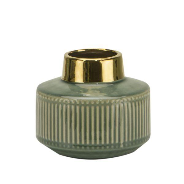 Florero-C1-20-Classique-14.5-13Cm-Ceramica-Verde------------