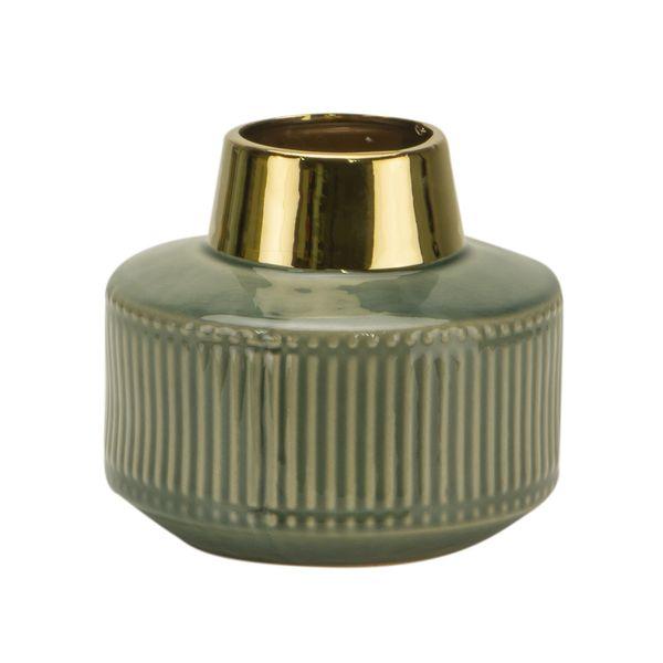 Florero-C1-20-Classique-18-16Cm-Ceramica-Verde--------------
