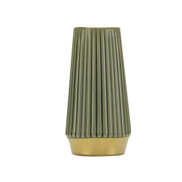 Florero-C1-20-Classique-13.5-26.5Cm-Ceramica-Verde----------