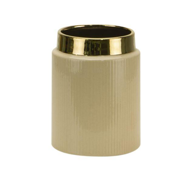 Florero-C1-20-Classique-13.5-18Cm-Ceramica-Beige------------