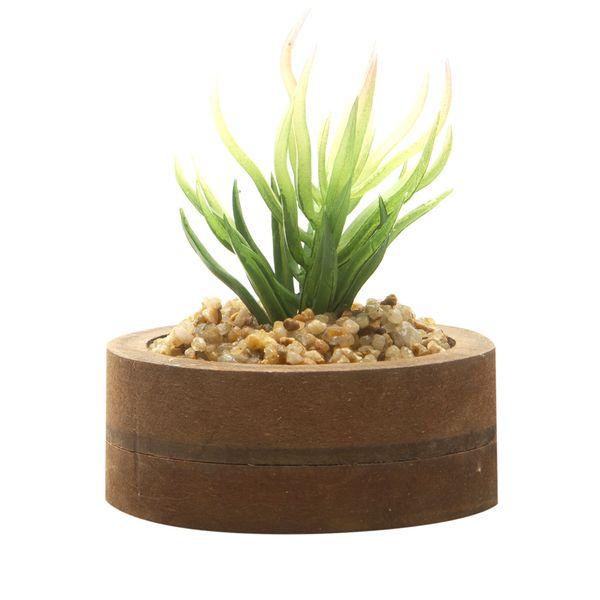 Planta-Artificial-Wood-Puya-7.4-2.7Cm-Mdf-Plastico----------