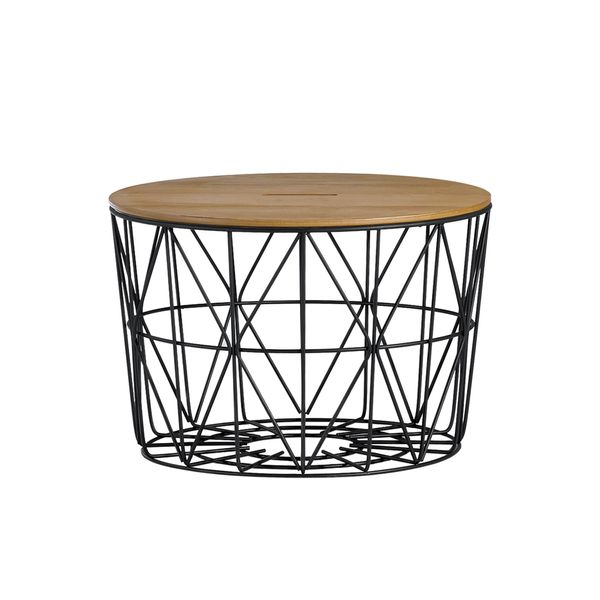 Mesa-De-Centro-Basket-60-40-Madera-Roble-Base-Metal-Negra---