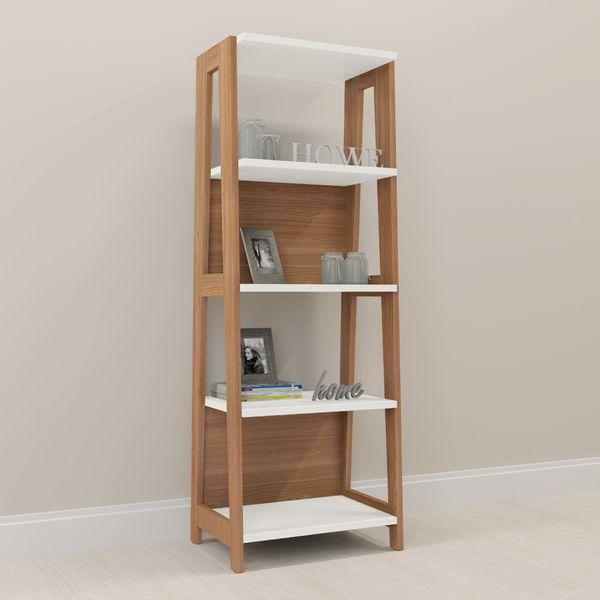 Biblioteca-Trend-65-46-1805-Lam-Natural-Blanco