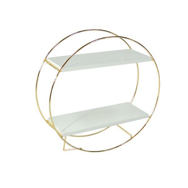 Repisa-Circle-Dorada-Blanca-Dorado