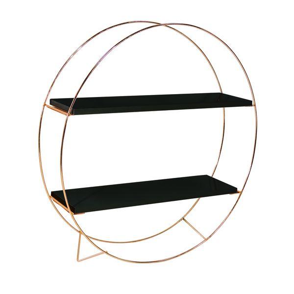 Repisa-Circle-Cobre-Negro-Cobre