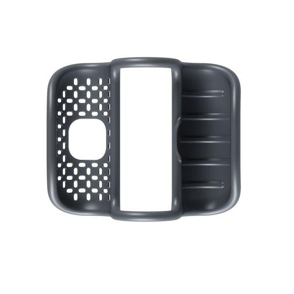Porta-Esponja-Sling-Org-26-11-8Cm-Plastico-Negro------------