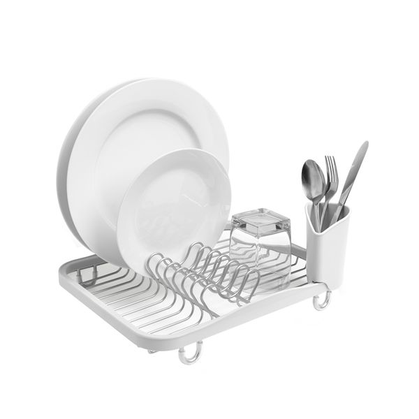 Escurridor-De-Platos-Sinkin-Dish-Rack-Wht-Nkl---------------