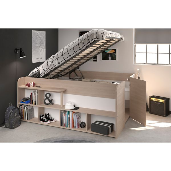 Cama-Doble-Space-Up-140-190Cm-Lam-Roble---------------------