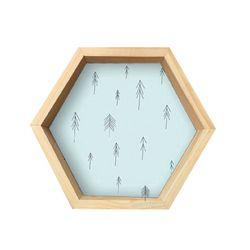 Repisa-Hexagonal-Azul-I-31-35-8-Cm-Azul