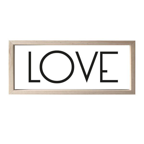 Cuadro-Love-20-50-2-Cm-Natural