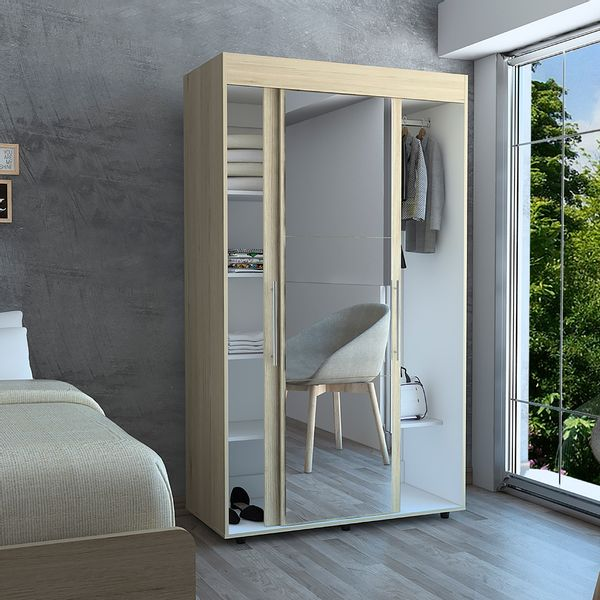 Closet-Milan-184-105-52-Cm-Rovere-Blanco