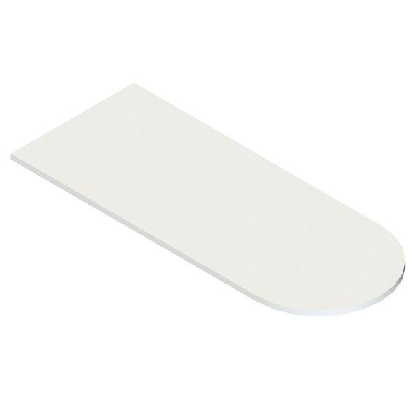 Superficie-Semicir-Pro-150-60-2.5Cm-Lam-Blanco-Mod----------