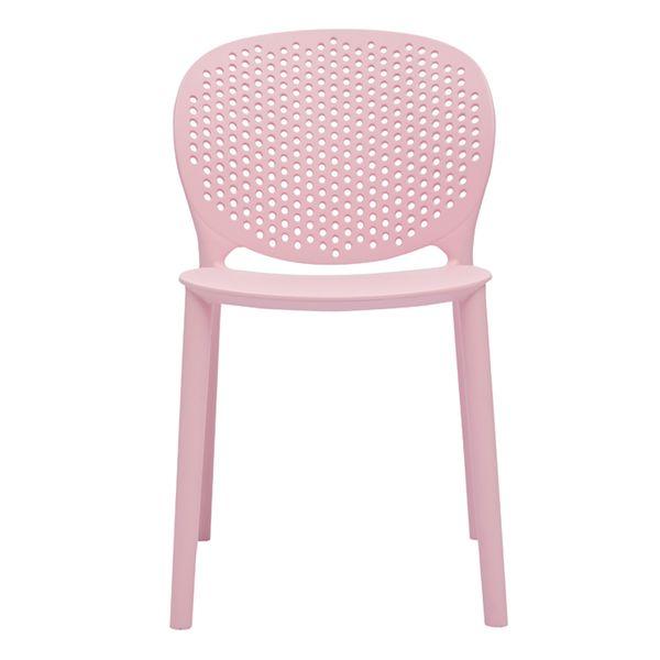 Silla-Auxiliar-Dots-Kids-Plastico-Rosa