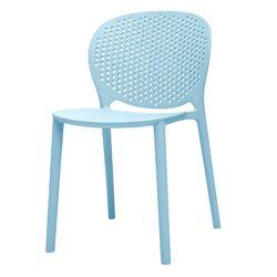Silla-Auxiliar-Dots-Kids-Plastico-Azul