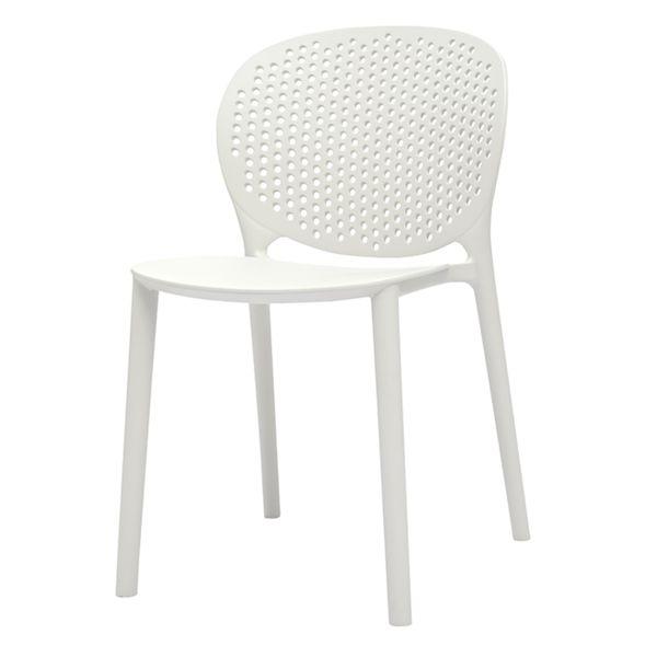 Silla-Auxiliar-Dots-Kids-Plastico-Blanco