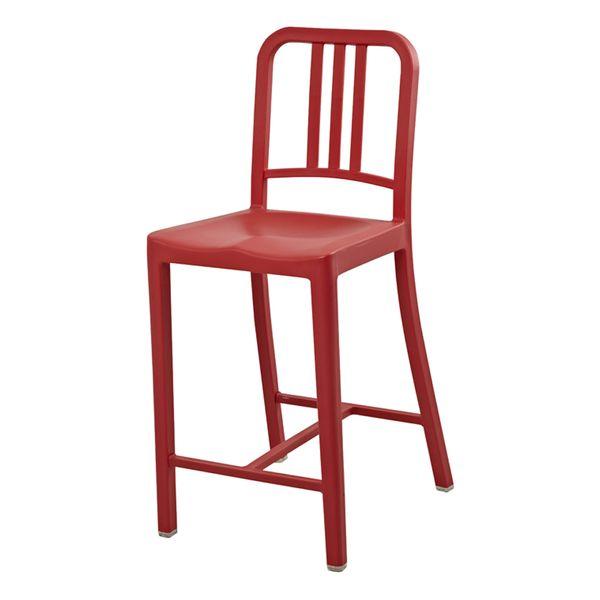 Butaco-Retro-Plastico-Rojo