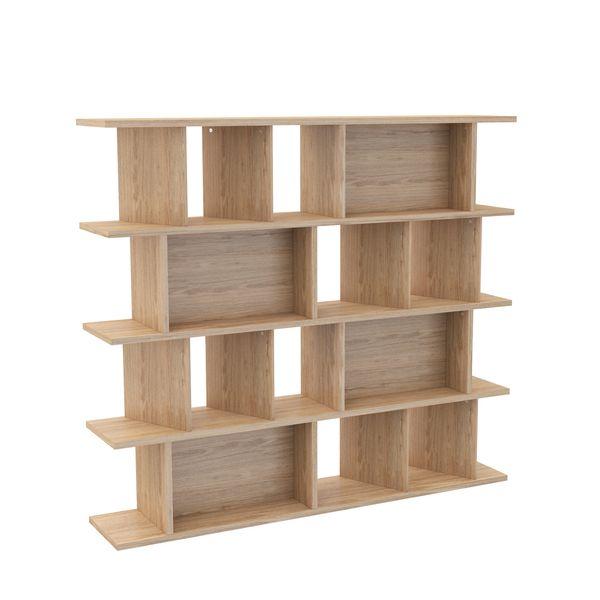 Biblioteca-Buro-180-35-160Cm-Lam-Rovere--------