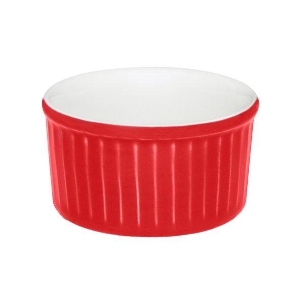 Ramequin-Decorado-5-5-10Cm-Porcelana-Rojo-------------------