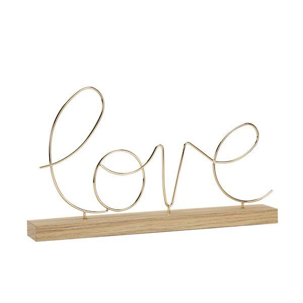 Escultura-C1-20-Love-36.3-21.6Cm-Mdf-Metal-Dorado-----------