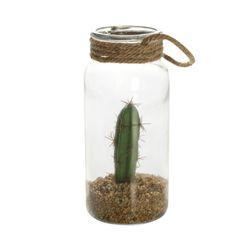 Planta-Artificial-Cactus-11-24.5Cm-Vidrio-Plastico----------