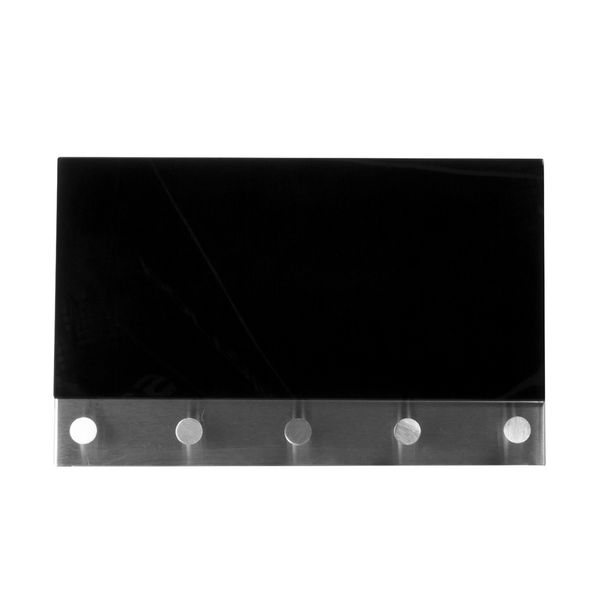 Perchero-Magnetico-Pared-30-5-19Cms-Negro-------------------