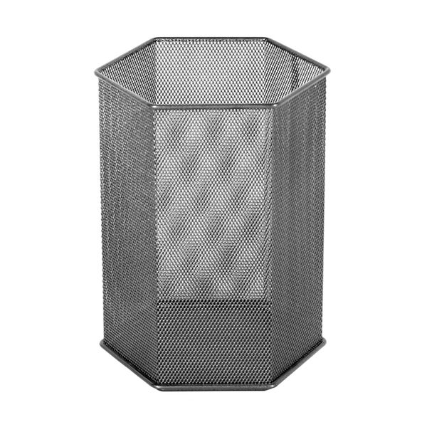 Papelera-Hexagonal-Office-20-20-30Cm-Met-Malla-Acero