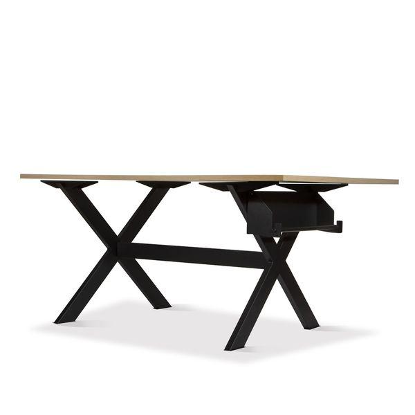 Mesa-De-Trabajo-Arquitect-120-200-92Cm-Met-Lam-Natu-Claro---