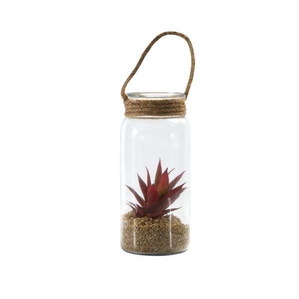 Planta-Artificial-Flor-11-24.5Cm-Vidrio-Plastico------------