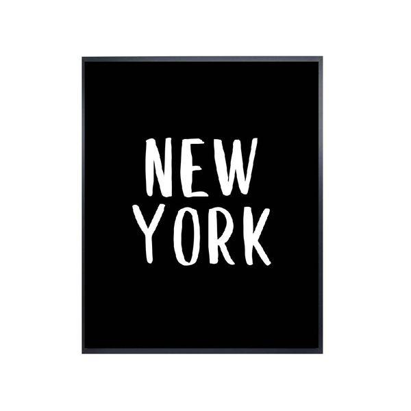 Cuadro-New-York-53-43-2-Cm-Blanco-Negro