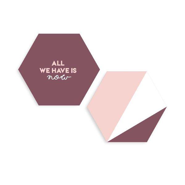 Set-2-Cuadro-Hexagonal-All-We-Have-31-35-1-Cm-Bla
