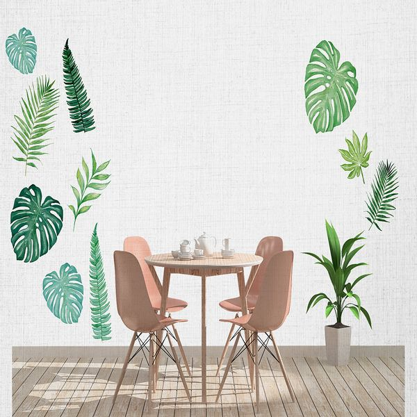 Vinilo-Decorativo-Green-Leaves-60-150-Cm