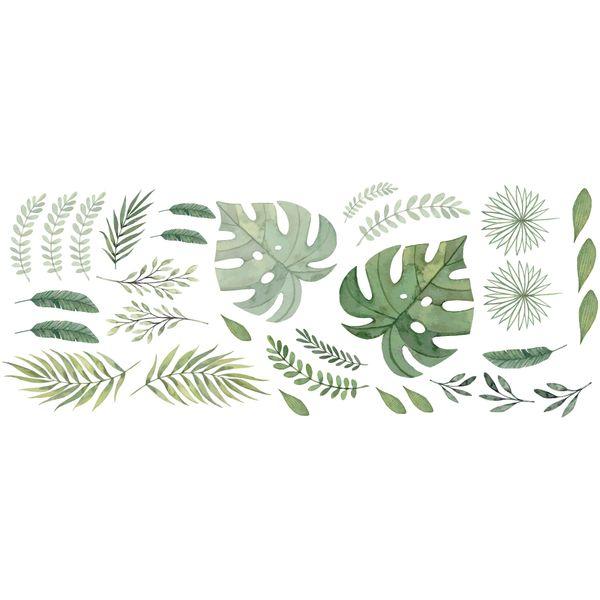 Vinilo-Decorativo-Hojas-Verdes-60-150-Cm