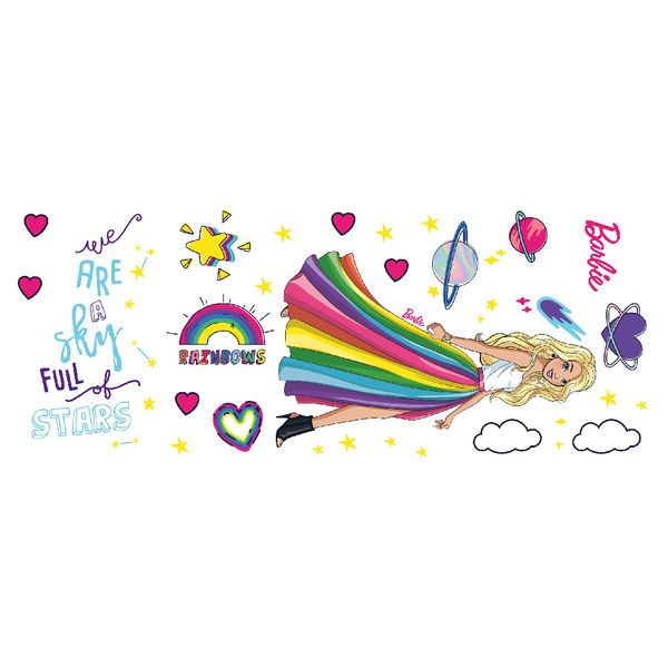 Vinilo-Decorativo-Estrellas-Barbie-60-150-Cm