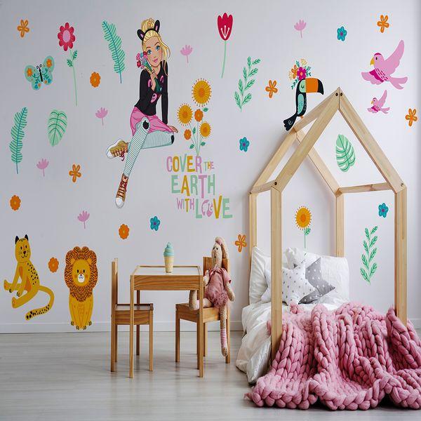 Vinilo-Decorativo-VIda-Salvaje-Barbie-60-150-Cm