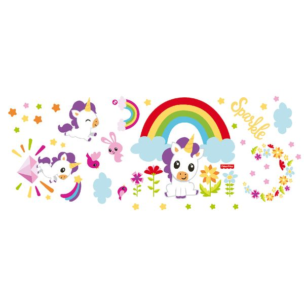 Vinilo-Decorativo-Unicornio-Fisher-Price-60-150-Cm