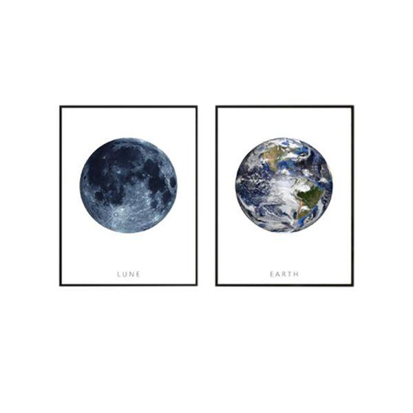 Set-2-Cuadros-Luna-Y-Tierra-Blan-Negro