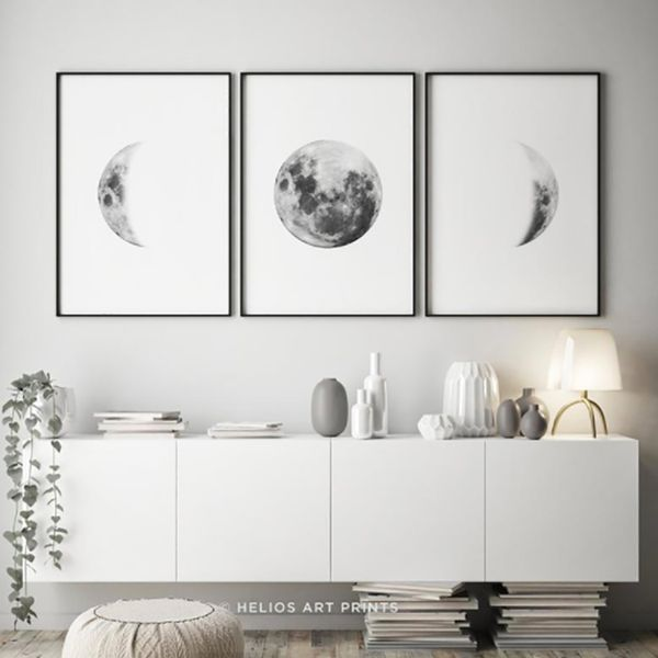 Set-3-Cuadros-Lunas-Blanco-Negro