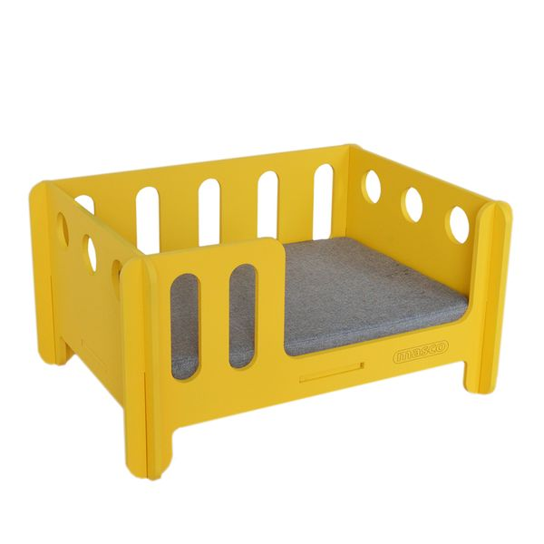 Cama-Armable-Dog-II-Amarillo