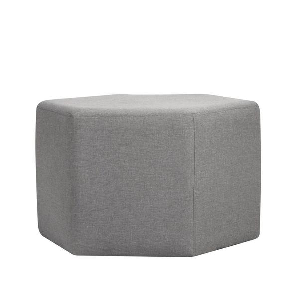 Puff-Forma-Hexagonal-Seul-Gris