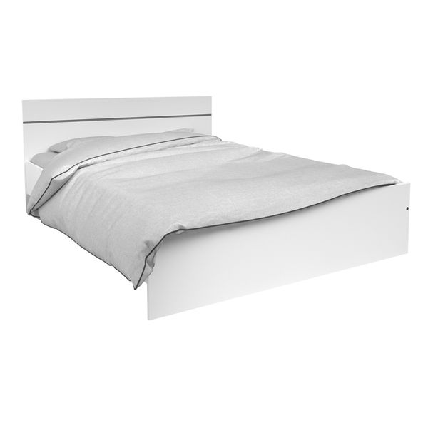 Cama-Doble-Soluce-140-190Cm-Lam-Natural-Blanco--------------