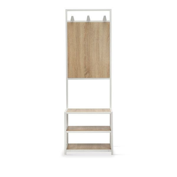 Mueble-Entrada-Bernie-Natural-Blanco