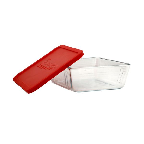 Bowl-C-Tapa-Pyrex-1.5Ml-Transparente-Rojo