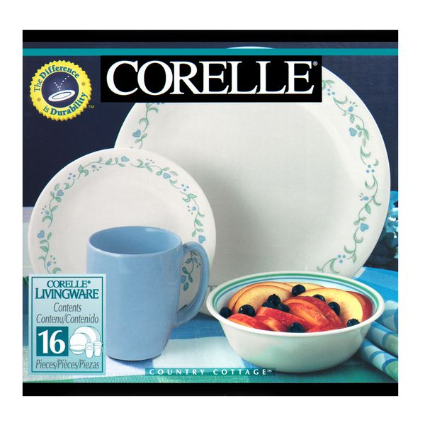 Vajilla-16-Piezas-Corelle-Country-Cottage-Blanco-Azul