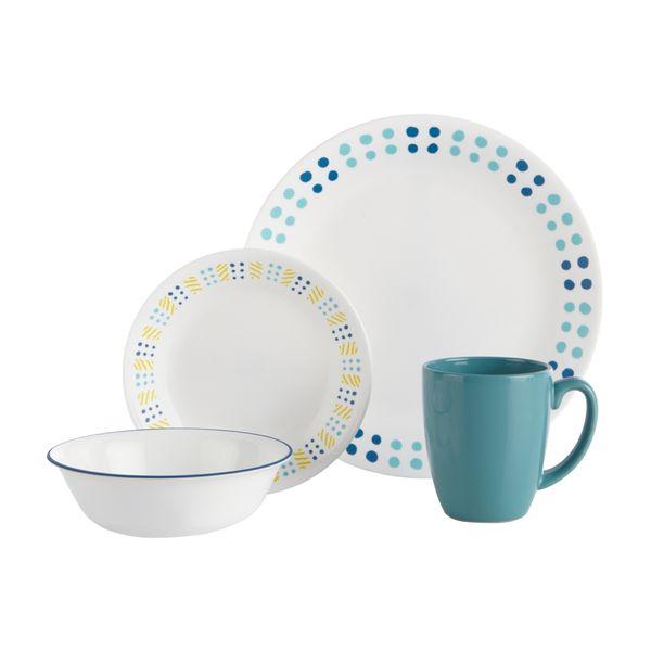 Vajilla-16-Piezas-Corelle-Key-West-Blanco-Azul
