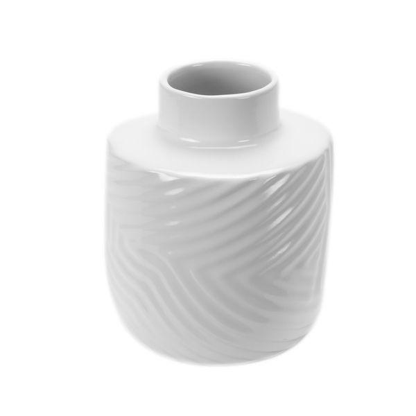 Florero-Zigzag-14-18cm-Blanco