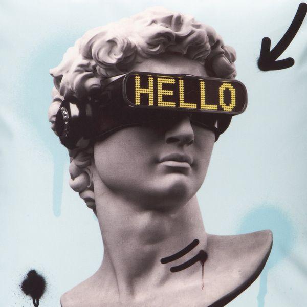 Funda-Cojin-Hello-Statue-45-45-Cm